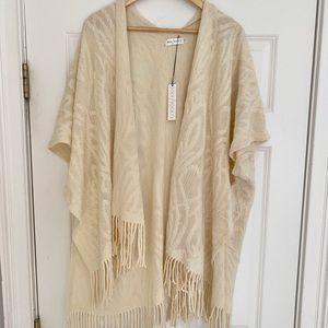 Jackets & Blazers - New sole society fringe kimono